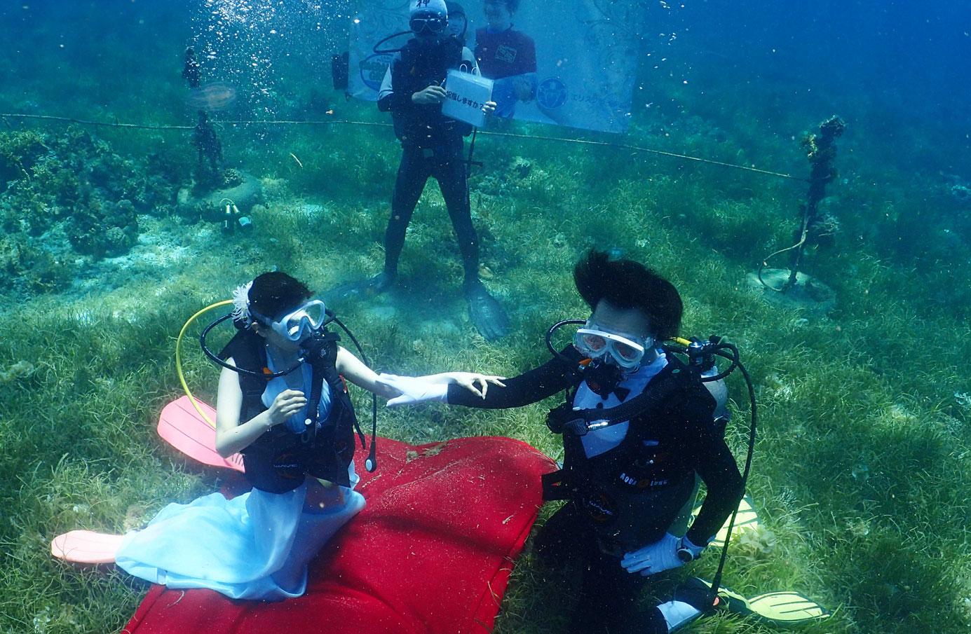 セブ島結婚式 セブウエディング 水中挙式