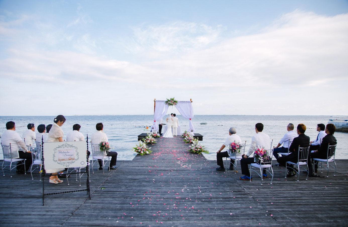 セブ島結婚式 セブウエディング セブシャトーバイザシー
