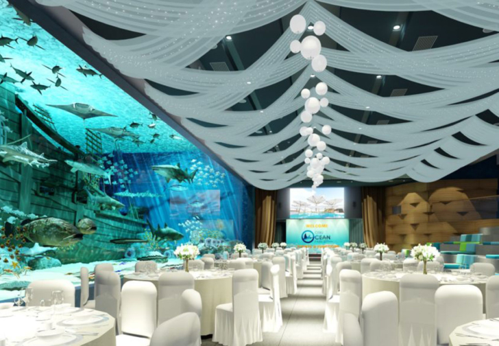 セブ結婚式水中 セブウエディングダイビング セブオーシャンパーク セブ水族館