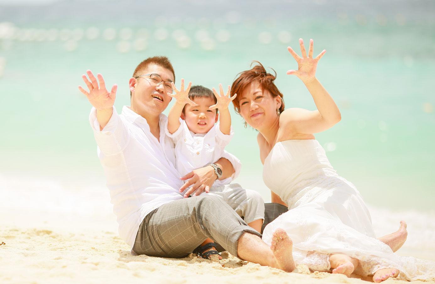 セブ子連れ旅行 セブ家族写真 セブファミリーフォト