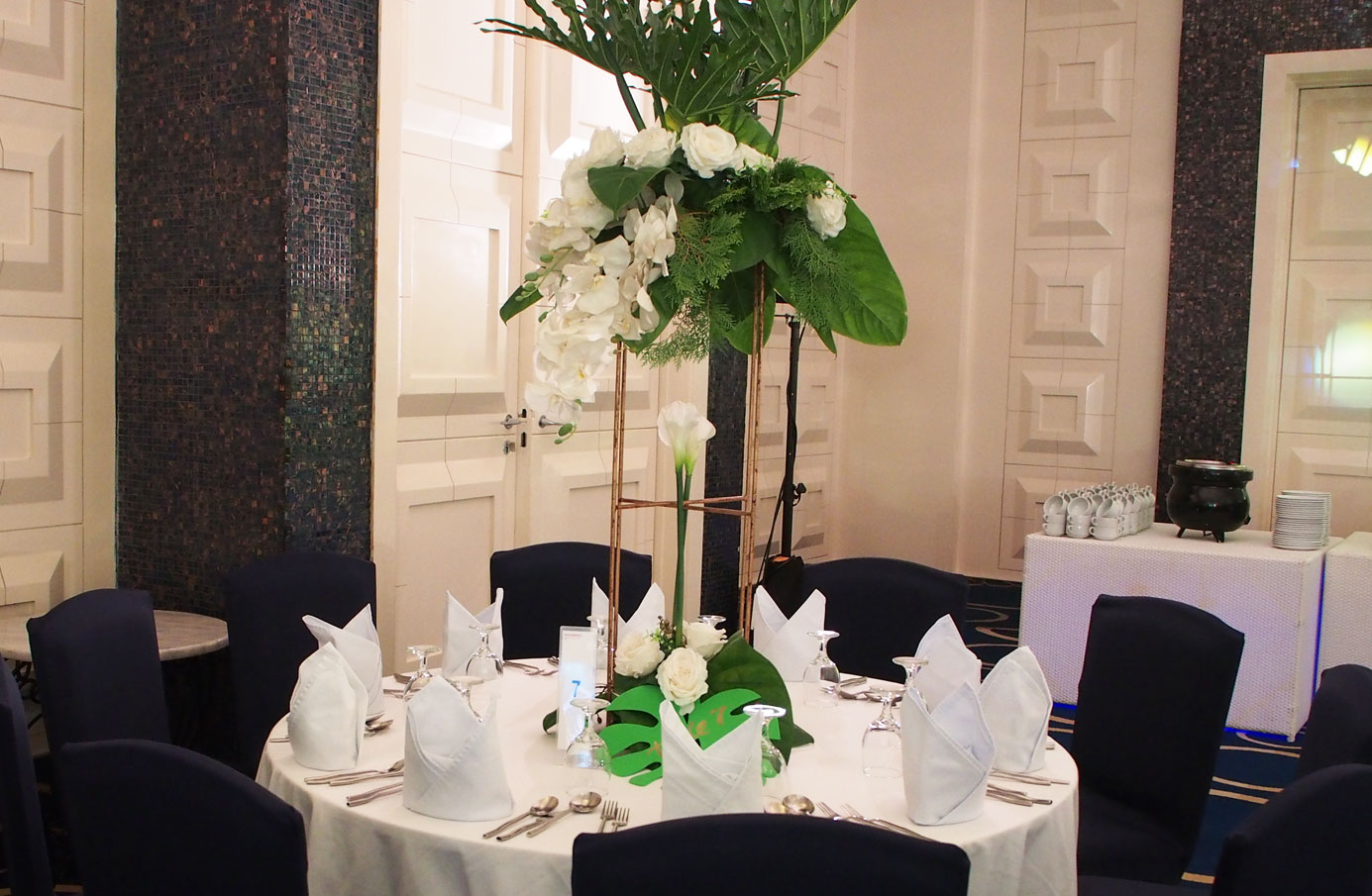 セブ島ウエディングパーティ装飾 セブ島パーティお花 セブ島イベント装飾 cebu wedding decoration