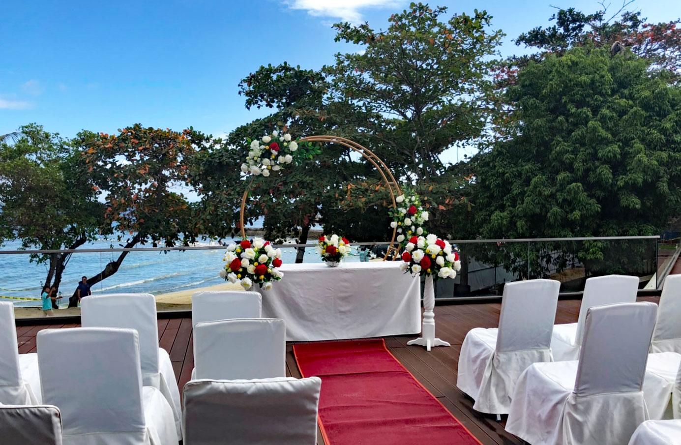 セブ結婚式タンブリ (4)