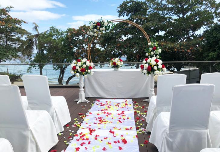 セブ島結婚式 セブ島挙式会場 セブ島ウエディング セブ島タンブリホテル