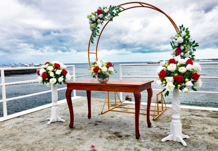 セブ島結婚式 セブ島挙式会場 セブ島ウエディング セブ島青空シーサイド
