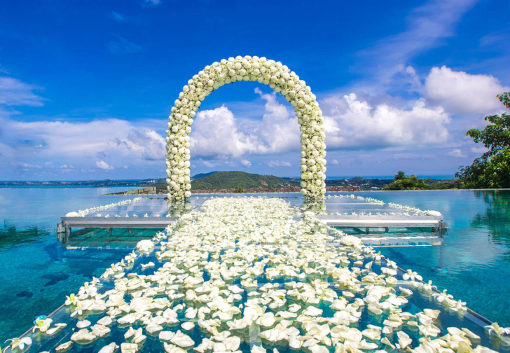 サムイ島ヴィラウエディング サムイ島別荘レンタル サムイ島結婚式