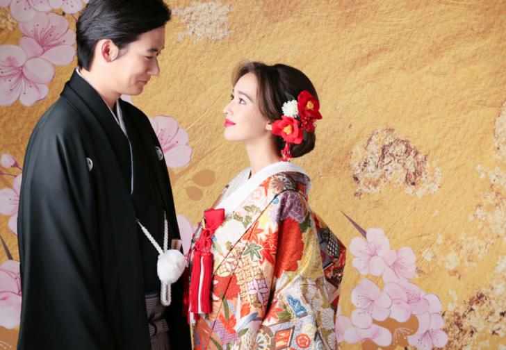 kimonophoto 前撮り kimono photo japan prenup japan