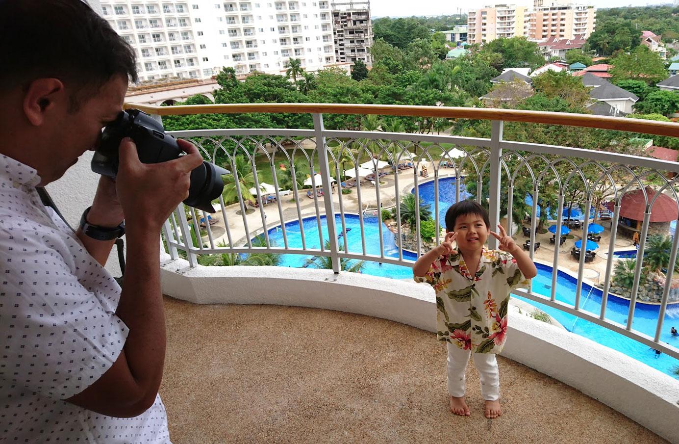 セブ島子連れ旅行 セブ家族写真 セブファミリーフォト